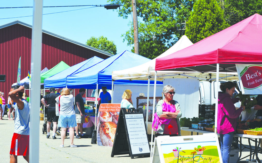 Farmers' market season will feature modifications due to pandemic