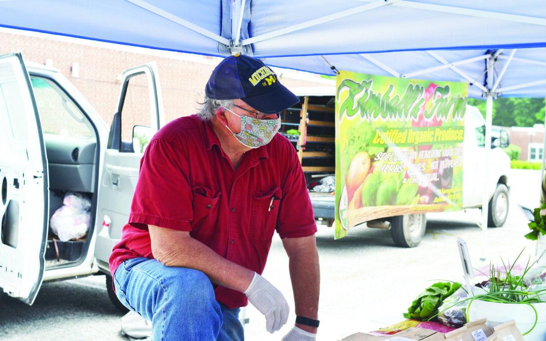 Farmers' markets return with adjustments